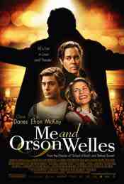 Movie Poster: Me and Orson Welles