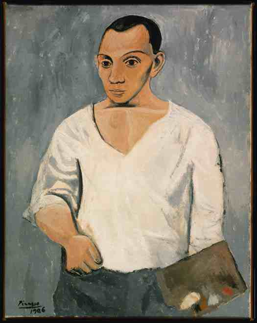Picasso: Self Portrait With Palette