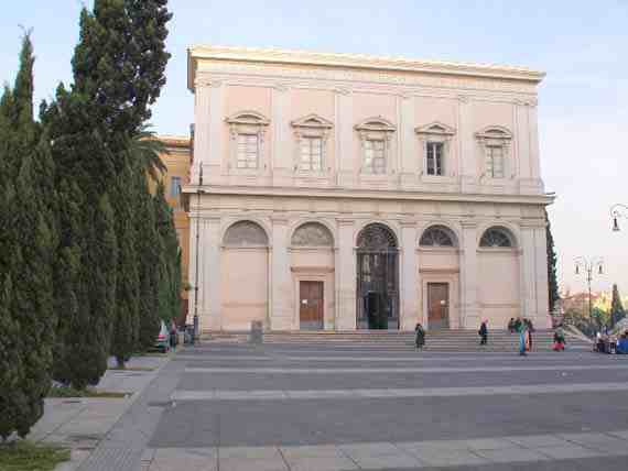 Scala Santa leading up to the Sancta Sanctorum