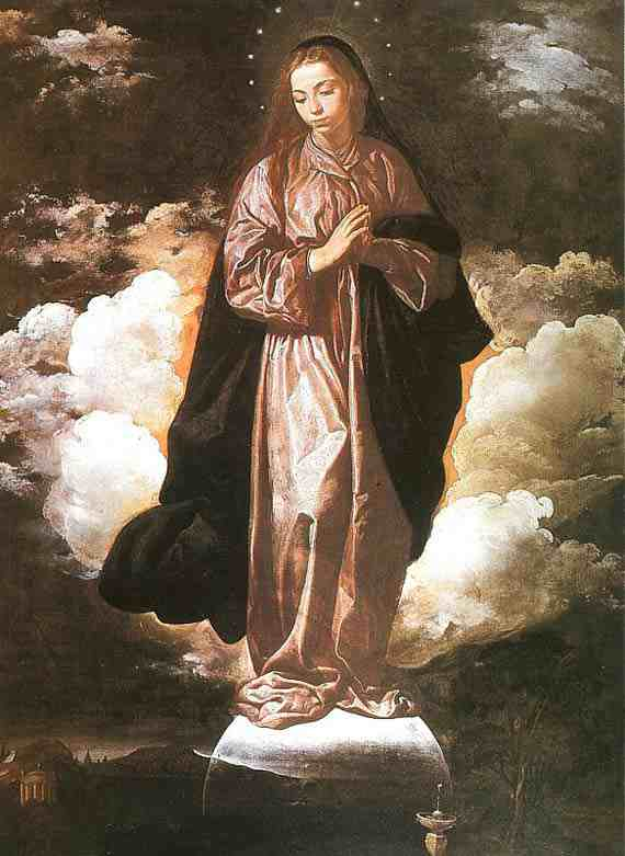 The Immaculate Conception (1618-1619) by Diego Velázquez
