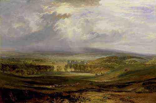 Raby Castle by J.M.W. Turner