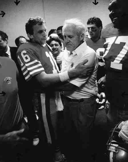 Joe Montana and Bill Walsh