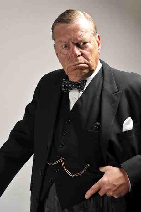 Warren Clarke as Churchill