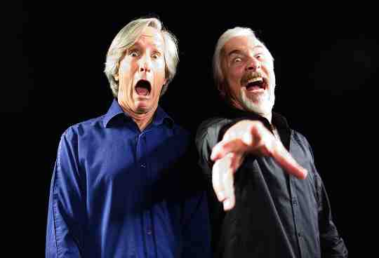 Mick Garris with first Post Mortem Guest Rick Baker