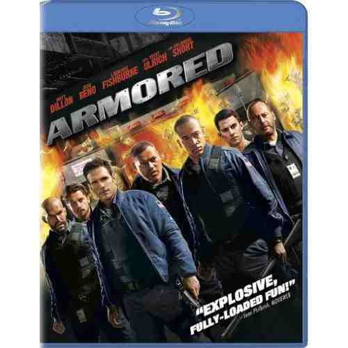 DVD Cover: Armored