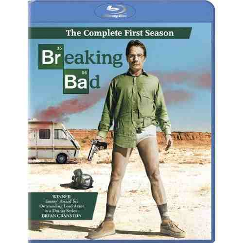 DVD Cover: Breaking Bad Season 1