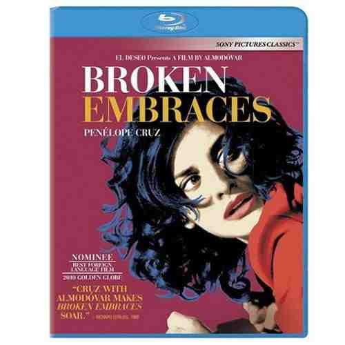 DVD Cover: Broken Embraces