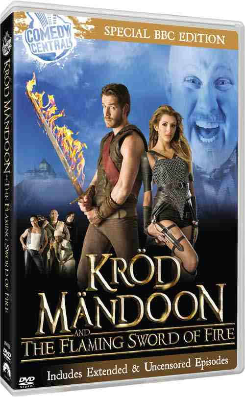 DVD Cover: Krod Mandoon & The Flaming Sword of Fire