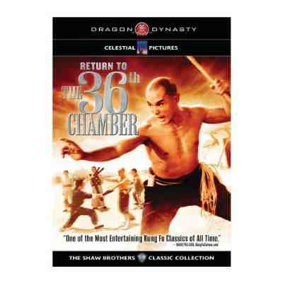 DVD Cover: Return to the 36th Chamber