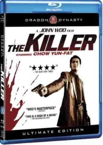 DVD Cover: The Killer