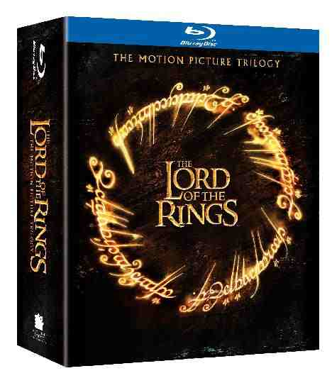 DVD Cover: The Lord of the Rings The Motion Picture Trilogy