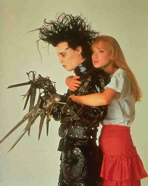 Movie Still: Edward Scissorhands