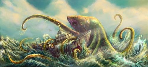 Movie Still: Sharktopus