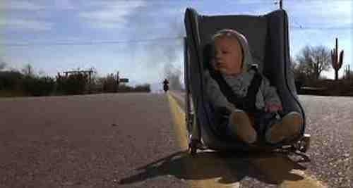 Raising Arizona - Nathan Junior hits the road