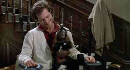 Man and Monkey in Monkey Shines