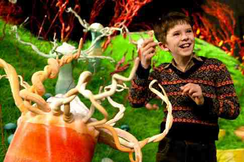 Movie Still: Charlie & The Chocolate Factory