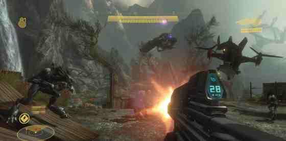 Videogame Still: Halo: Reach