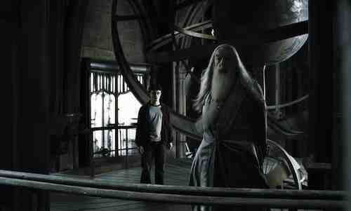 Harry Potter and the Half-Blood Prince – Daniel Radcliffe and Michael Gambon