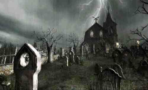 Resident Evil 4 - Graveyard