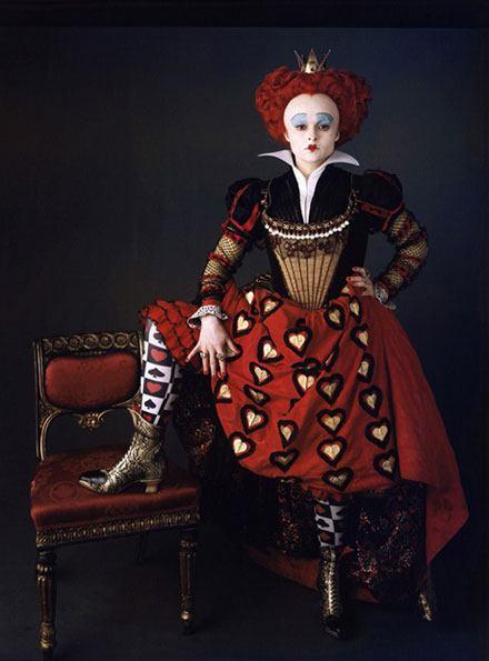 Alice in Wonderland 2010 Red Queen