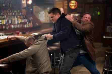 The Departed (2006) - Leonardo DiCaprio and Ray Winstone fight