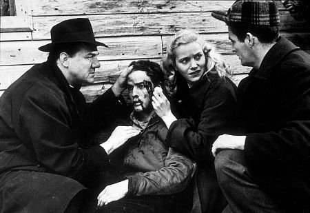 On The Waterfront (1954) - Karl Malden and Eva Marie Saint