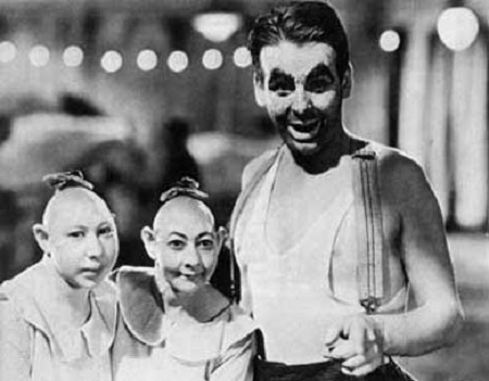 Tod Browning's Freaks - Wallace Ford, Elvira and Jenny Lee