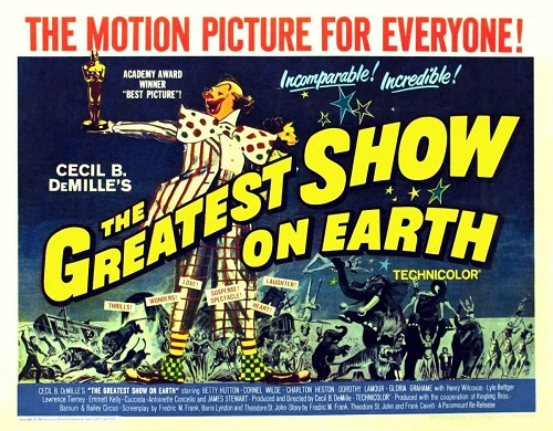The Greatest Show On Earth - Oscar Poster