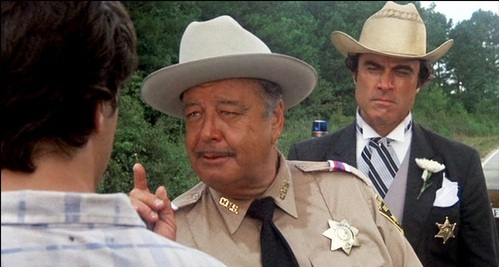 Smokey And The Bandit (1977) starring Jackie Gleason as Buford T. Justice
