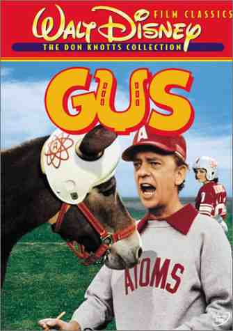 Gus (1976, Walt Disney Pictures) - Don Knotts with Gus the Mule