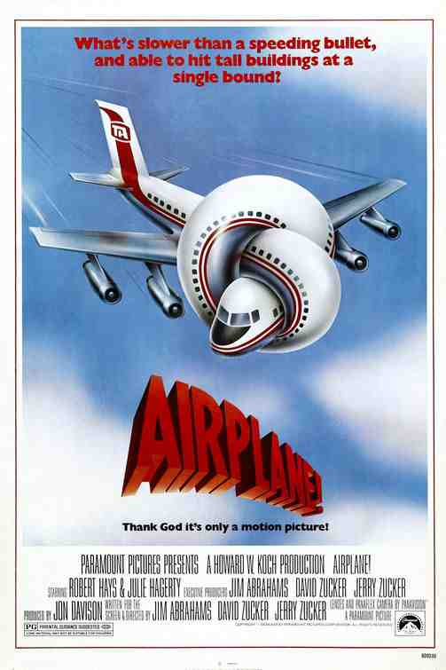 Poster for the Comedy Classic Airplane!