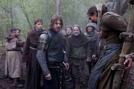 Black Death (2010) Sean Bean and Eddie Redmayne preside at a witch hunt