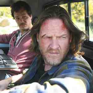 Donal Logue as Hank Dolworth and Michael Raymond-James as Britt Pollack in Terriers