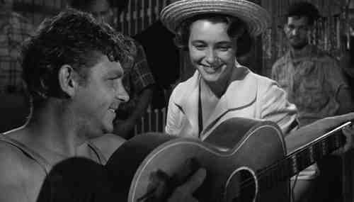 Andy Griffith and Patricia Neal begin A Face In The Crowd in jail