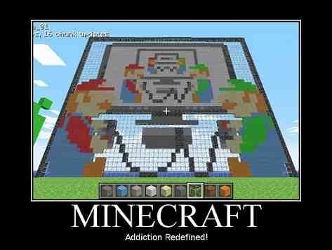Minecraft Demotivational
