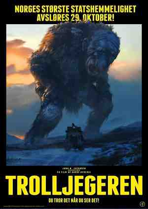 Trolljegeren - Theatrical Poster
