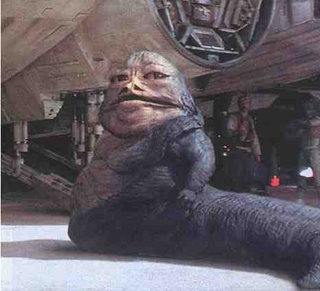 Jabba from A New Hope