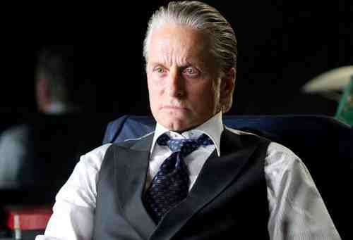 Michael Douglas as Gordon Gekko in Wall Street: Money Never Sleeps