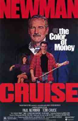 The Color Or Money (1986) - Poster