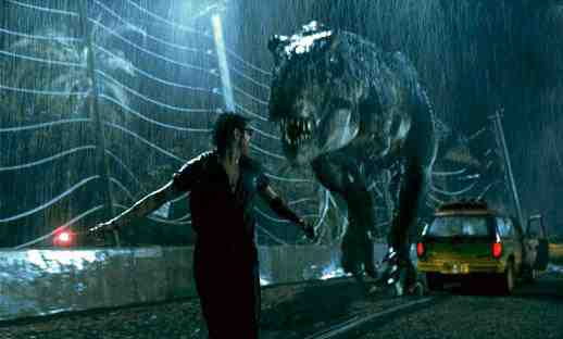The T-Rex from Jurassic Park