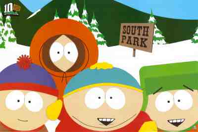 South Park - Stan, Kenny, Cartman & Kyle