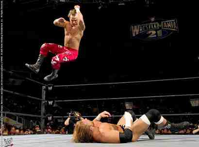 WrestleMania 21 Elbow Drop