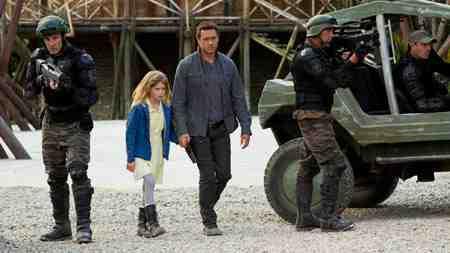 Leah and Jim in Terra Nova's The Runaway
