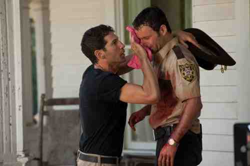 AMC's The Walking Dead Shane and Rick