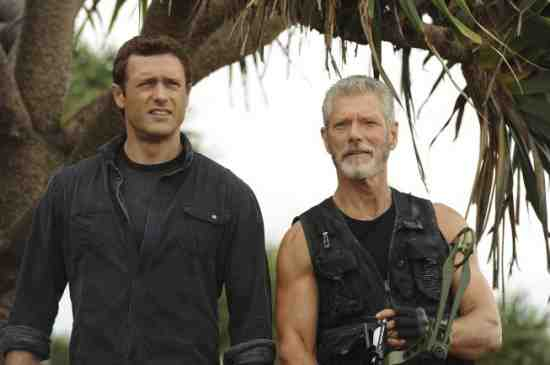 Jason O'Mara and Stephen Lang in Terra Nova's Proof