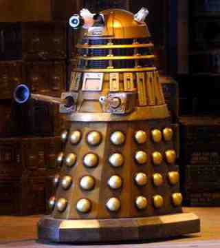 A Dalek from Doctor Who