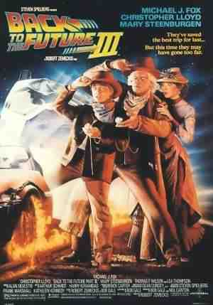 The Poster for Back to the Future Part III