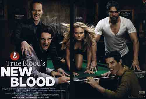 Werewolves and more join the cast of True Blood, Season 3