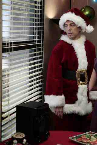 Ed Helms as Andy Bernard in The Office Christmas Wishes