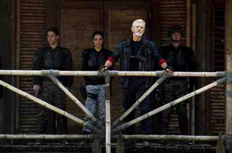Stephen Lang as Commander Nathaniel Taylor of Terra Nova Within